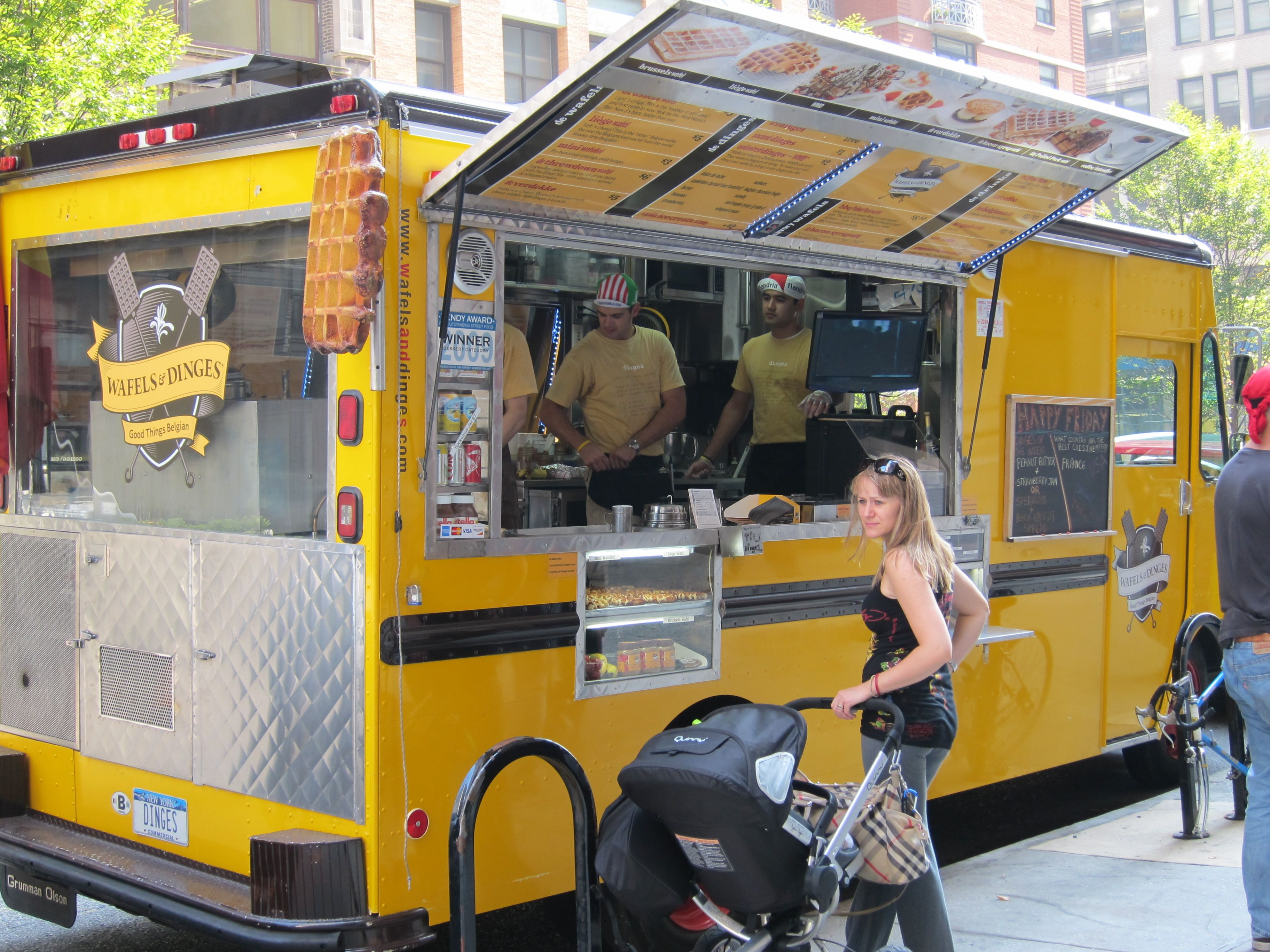 Reach The Masses With the NYC Food Truck Business
