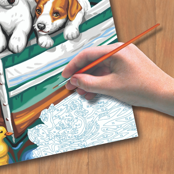 Top 3 Ways To Improve Your Painting Skills With The Help Of Paint By Numbers Kit!